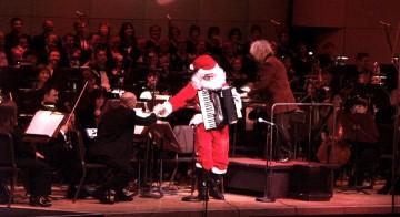 Дед Мороз и оркестр